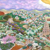 """0830_Kidron Valley"" by Nachshonart"