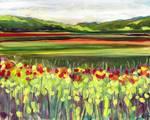 Wildflower Meadow by Jennifer Lommers