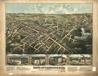 1878 North Attleborough, MA Panoramic Map