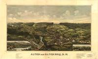1888 Alton & Alton Bay, NH Birds Eye Panoramic Map