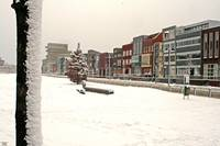Roombeek in snow