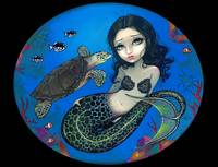 Sea Turtle Mermaid