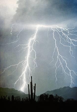 Lightning Strikes From Heaven