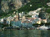 Port of Amalfi in Afternoon