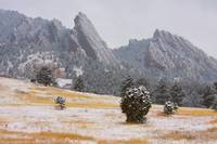 Flatiron Meadow Boulder Colorado