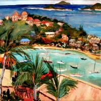 """Cruz Bay, St John, USVI"" by DianeArtware"