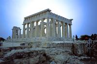 Temple of Aphaia, Aegina, Spring Evening 2003 7 by Priscilla Turner