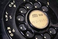 vntage rotary phone