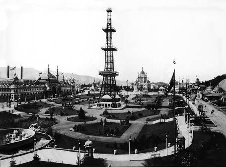 Grand Court and Electric Tower, San Francisco 1893