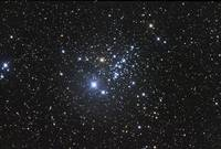 Owl Cluster in the constellation Cassiopeia