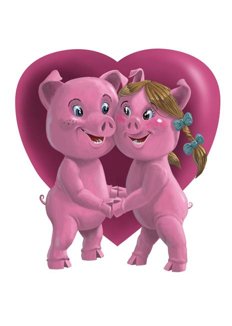 pigs in love by Martin Davey