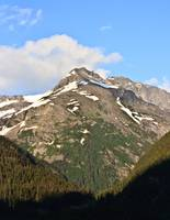 Inside Passage Mountain - Leaving Skagway