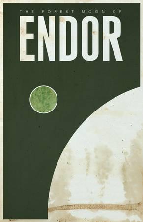 Forest Moon of Endor by Justin Van Genderen