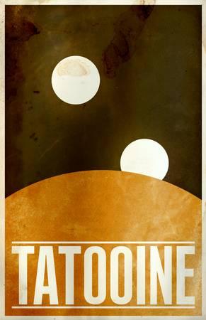 Tatooine by Justin Van Genderen