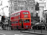 A Traditional London Bus