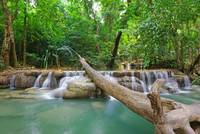 Erawan Waterfall - Step #1