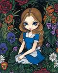 Alice and the Flowers