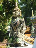 Guardian of the Chedi Wat Ket Karam Chiang Mai