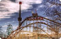 Cyclone, AstroTower and Wonder Wheel