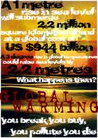 graphic design- global warming- almfin