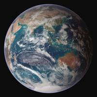 Full view of Earth