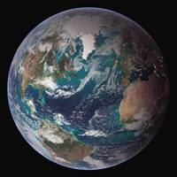 Full view of Earth.