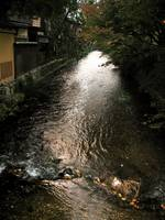 Stream through Gion District, Kyoto