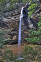 E2K1452 Ash Cave Waterfall by Jim Crotty