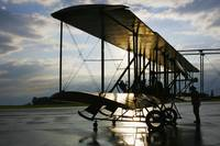 Wright B Flyer at Sunrise in Dayton Ohio