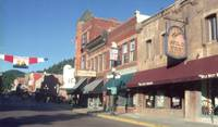Mainstreet in Deadwood