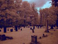 Graveyard X in Central Illinois (IR  RGB modified)