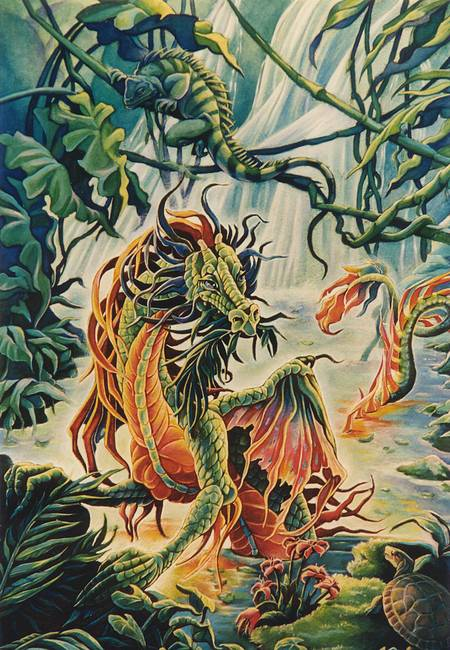 Rainforest Dragon