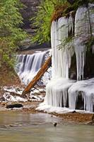Water and Ice in Hocking Hills