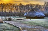 Winter Morning at Sunwatch Indian Village Dayton O