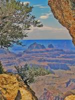 Grand Canyon Fake HDR