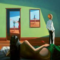 """""""Green room Blue room"""" by williamjohns"""