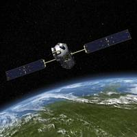 Artist concept of the Orbiting Carbon Observatory
