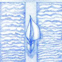 True Sail (blue) Art Prints & Posters by Lisa Senette