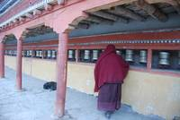 Prayer Wheels - Hemis Monastery - Ladakh, India
