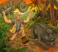 John Locke vs. The Wild Boar