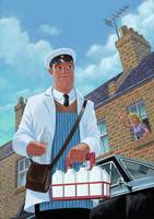 milkman delivering
