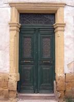 Old Green Door