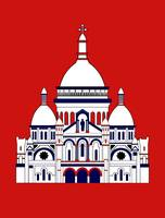 Inspired by Sacre Coeur, Montmartre, Paris, France