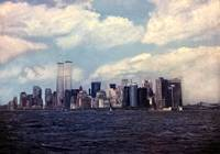 """""""New York Cityscape"""" from the Staten Island Ferry by Joe Gemignani"""