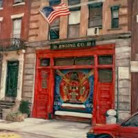 New York City FireHouse (East Village) by Joe Gemignani