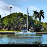 Glades Sailing by Donnie Shackleford