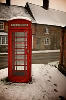 Lonely Telephone Box