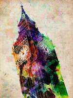 London Big Ben Urban Art