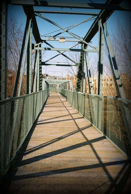 Willimantic Footbridge