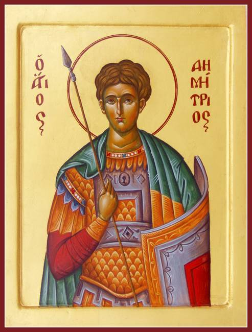 St Demetrios the Myrrhstreamer